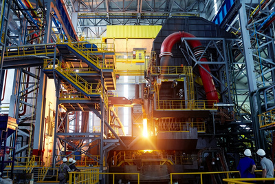 EAF Quantum electric arc furnaces from Primetals Technologies
